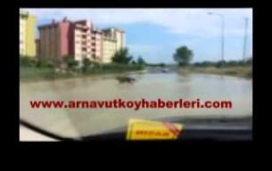 Arnavutköy'de Şiddetli Yağış