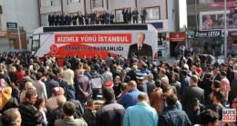 MHP Arnavutköy'den Miting Gibi Açılış