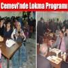 Arnavutköy Cemevi'nde Lokma Programı Düzenlendi