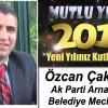 Ak Parti Arnavutköy Belediyesi Meclis Üyesi Özcan Çakmakçı'nın Yeni Yıl Mesajı
