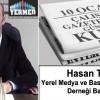 Yerel Medya ve Basın Mensupları Derneği Başkanı Hasan Terzi'nin 10 Ocak Çalışan Gazeteciler Günü Mesajı