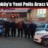 Hadımköy'e Yeni Polis Aracı Verildi