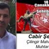 Cabir Şenel'in 18 Mart Çanakkale Zaferi ve Şehitleri Anma Günü Mesajı