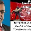 Mustafa Karakuş'un 18 Mart Çanakkale Zaferi ve Şehitleri Anma Günü Mesajı