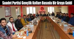Saadet Partisi Arnavutköy Gençlik Kolları Basınla Bir Araya Geldi