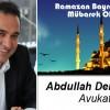 Abdullah Demirhan'ın Ramazan Bayramı Mesajı