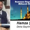 Hamza Şaşı'nın Ramazan Bayramı Mesajı