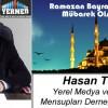 Hasan Terzi'nin Ramazan Bayramı Mesajı