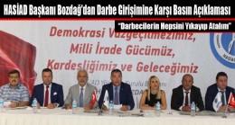 HASİAD Başkanı Bozdağ'dan Darbe Girişimine Karşı Basın Açıklaması