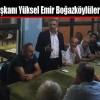 MHP İlçe Başkanı Yüksel Emir Boğazköylüleri Ziyaret Etti