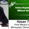 Hasan Terzi'nin Kurban Bayramı Mesajı