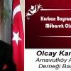 Olcay Karabağ'ın Kurban Bayramı Mesajı