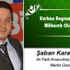 Şaban Karasakal'ın Kurban Bayramı Mesajı