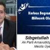 Sibğetullah Şahin'in Kurban Bayramı Mesajı