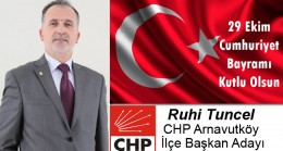 Ruhi Tuncel'in Cumhuriyet Bayramı Mesajı