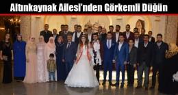 Altınkaynak Ailesi'nden Görkemli Düğün