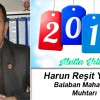 Harun Reşit Yılmaz'ın Yeni Yıl Mesajı