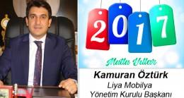 Kamuran Öztürk'ün Yeni Yıl Mesajı