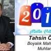 Tahsin Özdil'in Yeni Yıl Mesajı