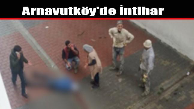 Arnavutköy'de İntihar