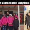 Muhtardan Mahallesindeki Suriyelilere Yardım Eli
