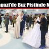 Sultangazi'de Buz Pistinde Nikah