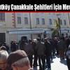 CHP Arnavutköy Çanakkale Şehitleri İçin Mevlid Okuttu