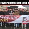 Arnavutköy Evet Platformu'ndan Basın Açıklaması
