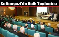 Sultangazi'de Halk Toplantısı