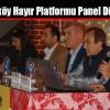 Arnavutköy Hayır Platformu Panel Düzenledi
