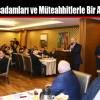 Başkan Altunay, İşadamları ve Müteahhitlerle Bir Araya Geldi