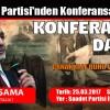 Saadet Partisi Arnavutköy İlçe Başkanlığı'ndan Konferansa Davet