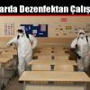 Okullarda Dezenfektan Çalışması