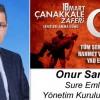 Onur Sarıgül'ün Çanakkale Zaferi ve Şehitleri Anma Günü Mesajı