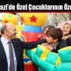 Sultangazi'de Özel Çocuklarının Özel Günü