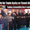 Arnavutköy'de Toplu Açılış ve Temel Atma Töreni