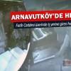Arnavutköy'de bir işyerine giren hırsızlar güvenlik kamerasına yakalandı