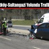 Arnavutköy-Sultangazi Yolunda Trafik Kazası
