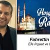 Fahrettin Efe'nin Ramazan Ayı Mesajı
