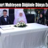 Fatih Aykurt Muhteşem Düğünle Dünya Evine Girdi