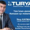 İlkay Kaymak'ın Ramazan Ayı Mesajı