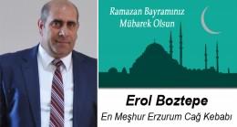 Erol Boztepe'nin Ramazan Bayramı Mesajı