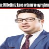 Faruk Duman; Milletimiz kaos ortamı ve ayrıştırma istemiyor
