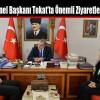 İSTKOP Genel Başkanı Tokat'ta Önemli Ziyaretlerde Bulundu