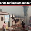 İmrahor'da Bir İmalathanede Yangın