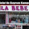 Esila Bebe'de Bayram Kampanyası