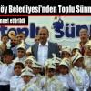 Arnavutköy Belediyesi'nden Toplu Sünnet Şöleni