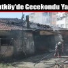 Arnavutköy'de Gecekondu Yangını