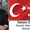 Tahsin Özdil'in Cumhuriyet Bayramı Mesajı