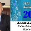 Adem Akgün'ün Yeni Yıl Mesajı